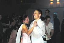 Maturitní ples třídy 4SCR ze Střední školy obchodní Husova 9.
