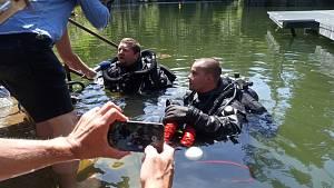 Potápěči se pokoušejí na jihu o rekord