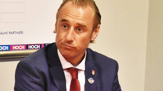 Zklamaný trenér Václav Prospal.