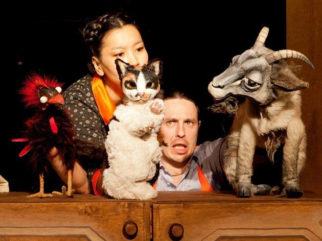 Zvířátka a Petrovští, nová pohádka, která má 22. března premiéru v Malém divadle v Českých Budějovicích.