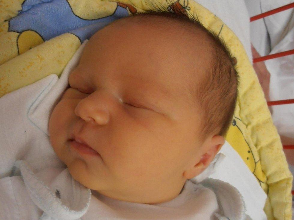 Týn nad Vltavou bude jistě krásným domovem pro Kristýnu Bromovou. 3,19 kg vážící Kristýnka na svět vykoukla přesně v půl deváté ráno v pátek 15.6.2012.