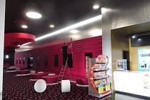 V multikině CineStar v IGY Centru bylo ve středu 11. března pusto prázdno.