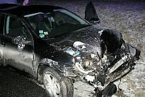 Tak vypadalo auto řidičky v konci jízdy.