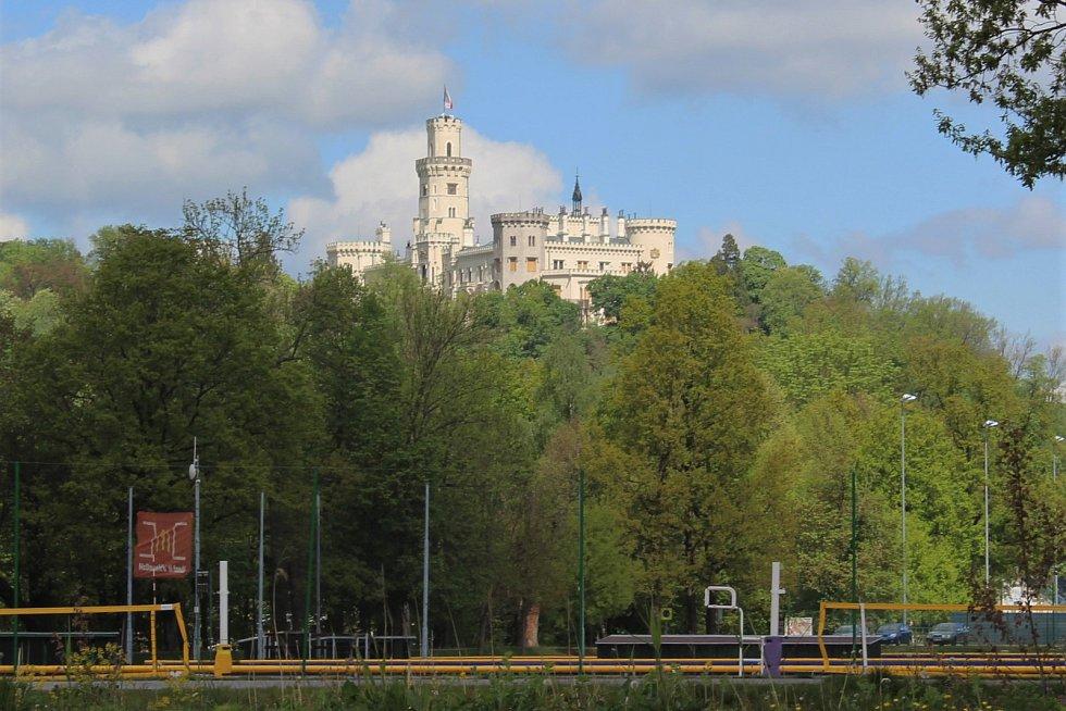 Ve sportovně relaxačním areálu Hluboká nad Vltavou.