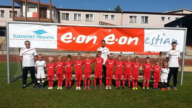 Účastníci Letní fotbalové školy