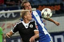 Štěpán Koreš se v Dynamu proti Liberci uvedl dobrým výkonem i pohotovým gólem.