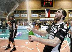 Domácí hráči VK Jihostroj České Budějovice zvítězili v 5.finálovém utkání extraligy mužů ve volejbale nad VK DHL Ostrava a stali se mistry extraligy 2010/11.