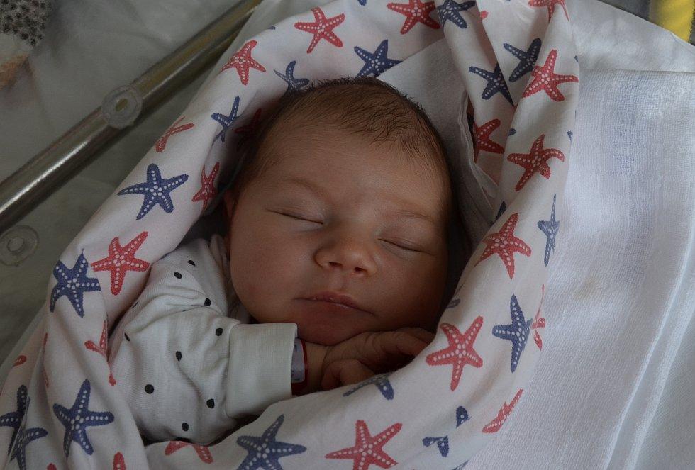 Rozálie Barabášová z Písku. Prvorozená dcera Pavly a Martina Barabášových se narodila 19. 3. 2021 v 13.09 hodin. Při narození vážila 3250 g a měřila 51 cm.