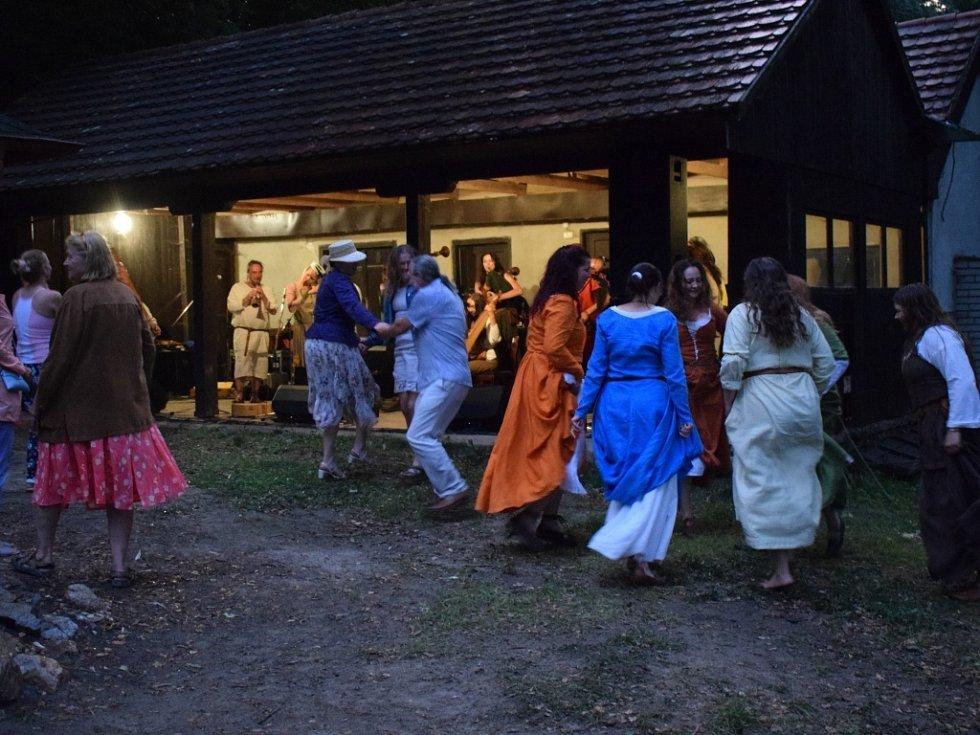 Sobota 22. srpna byla v areálu Památníku Jana Žižky z Trocnova plná středověké zábavy.