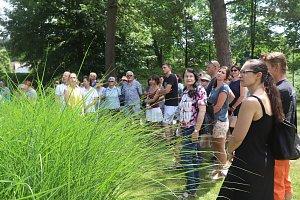 Zámek Mitrowicz otevřel svou zahradu
