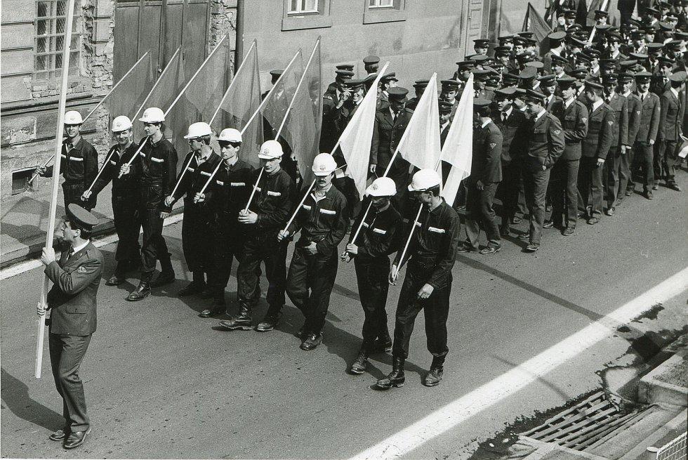 1. máj Týn nad Vltavou 1987