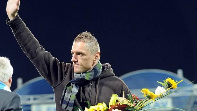 Luboš Pecka byl v Mladé Boleslavi uveden do klubové Síně slávy.