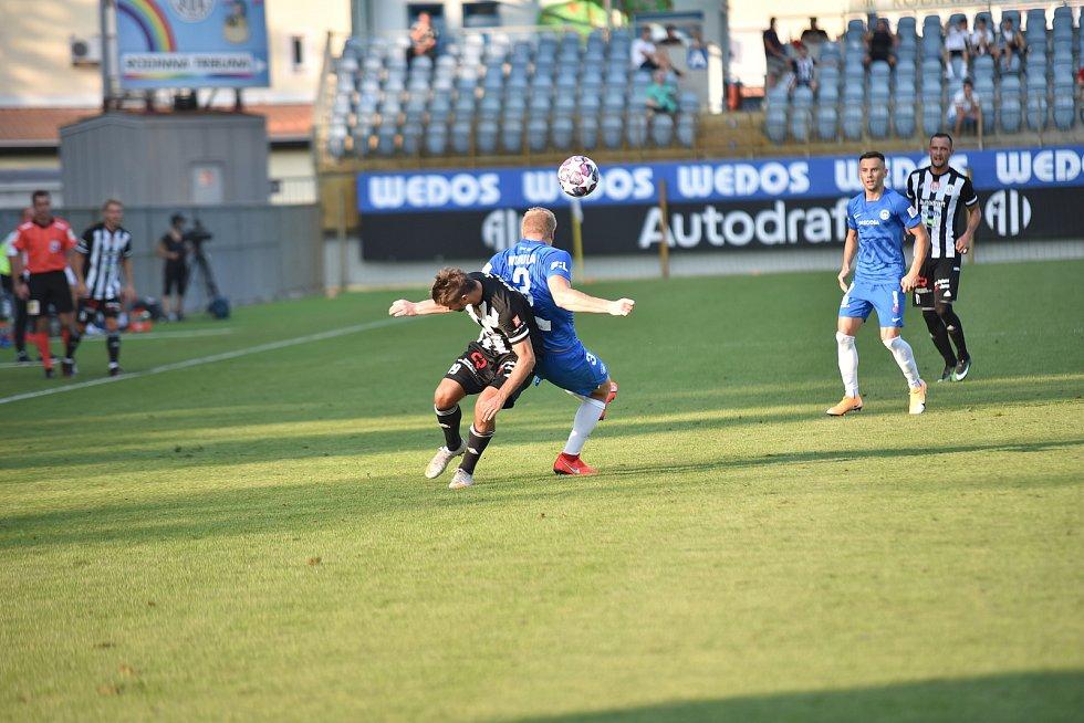 Fotbalisté českobudějovického Dynama podlehli Liberci 0:2.