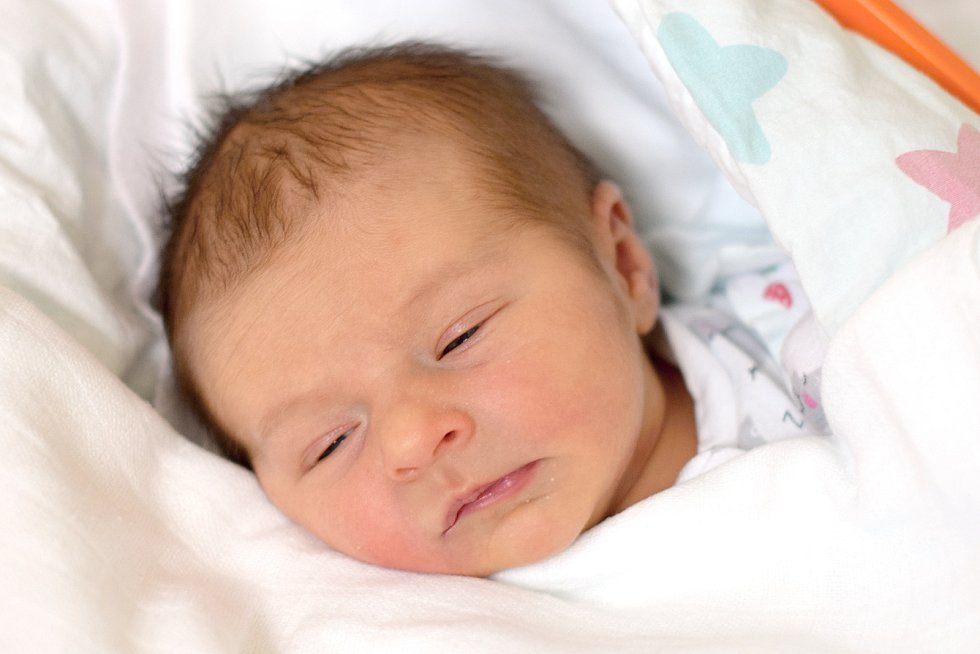 Monika Hankovcová je šťastnou maminkou novorozené Terezy Pazderové. Porodila ji 2. 3. 2020 ve 23.43 h., vážila 2,82 kg. Doma ve Veselí nad Lužnicí na ni čekala sestra Ela.