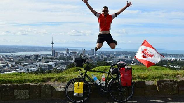 Na Mount Edenu v Aucklandu.