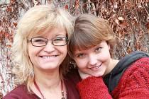 Pavlína Jíšová s dcerou Adélou.