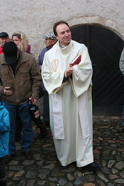 Roman Dvořák, Strakonice, farář