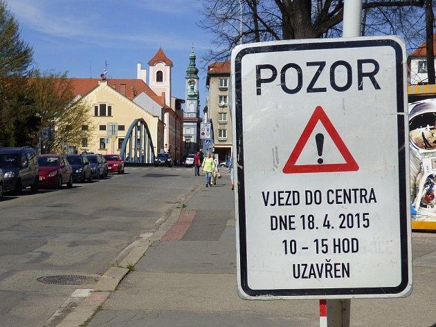 Sobotní Runtour omezí v Českých Budějovicích dopravu