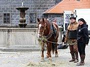 V Českém Krumlově se 2. listopadu natáčel německý historický film o reformátorovi Martinu Lutherovi. Dvoudílný film odvysílá příští rok německá stanice ZDF.