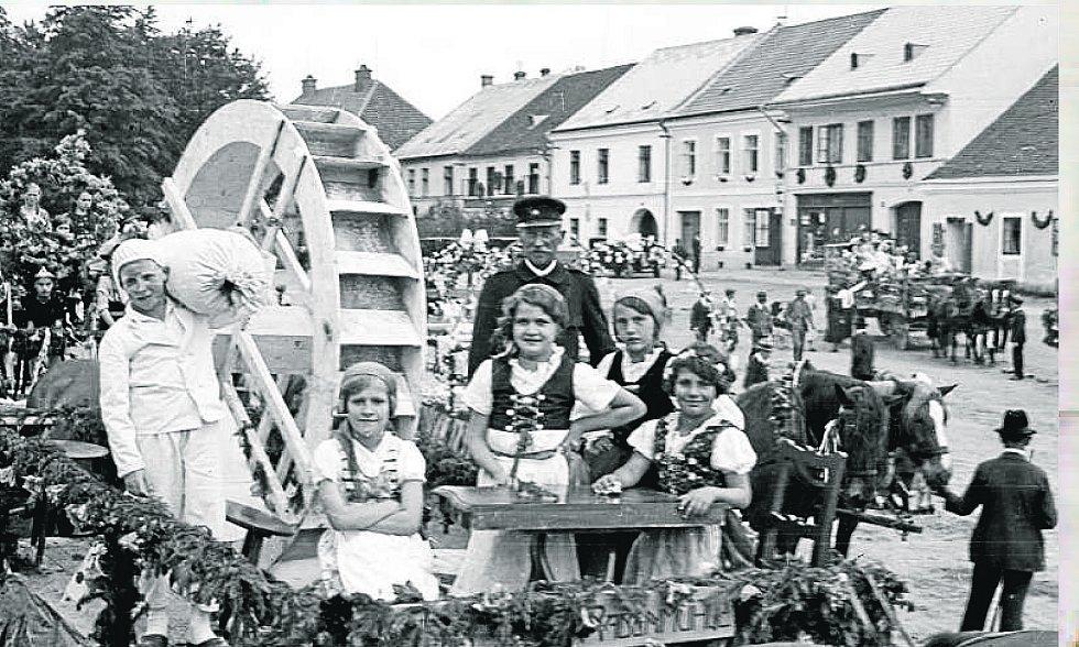 Velká německá slavnost v Horní Stropnici očima Františka Seidela.