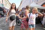 Festival Město lidem, lidé městu v Českých Budějovicích.