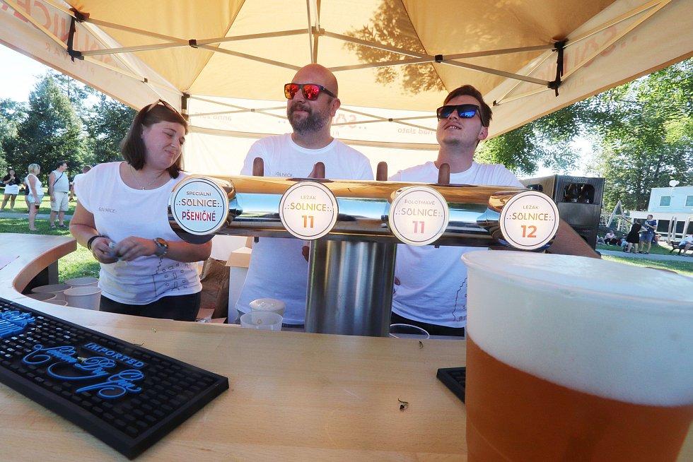 Pivní festival v čb