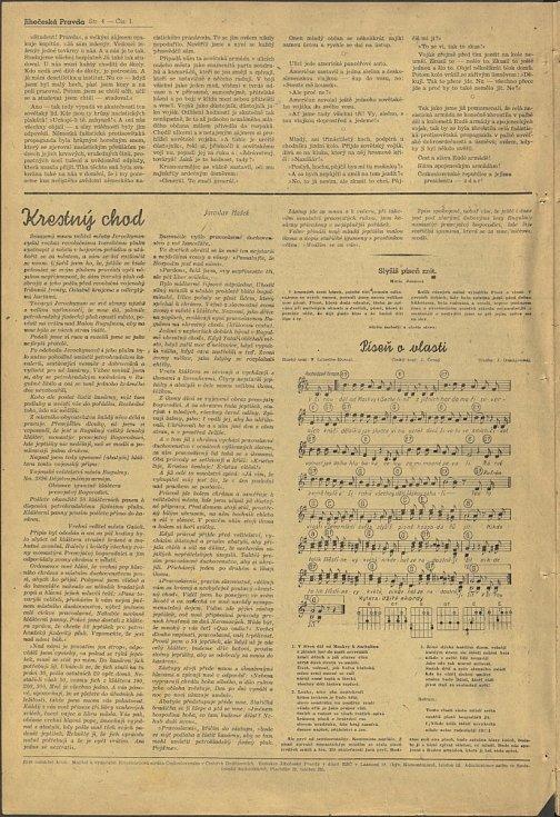 19. května 1945 vyšlo první vydání Jihočeské pravdy.