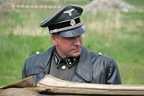 Připomínku 2. světové války mohli diváci sledovat v sobotu v Českých Budějovicích  opravdu zblízka.
