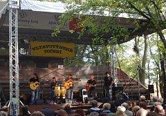 Neděle na točně v Týně nad Vltavou patřila druhému ročníku hudebního festivalu Vltavotýnské točen