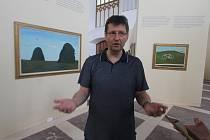 Výstava Kamila Lhoták v AJG v Hluboké nad Vltavou