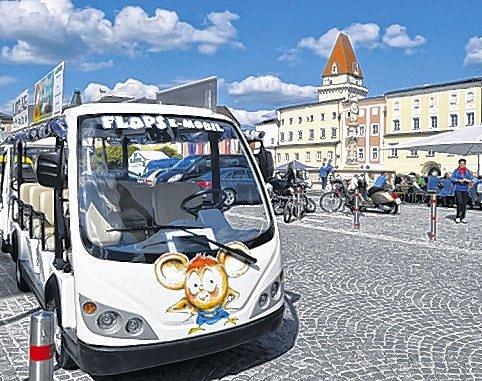 Kyvadlová doprava na trzích ve Freistadtu