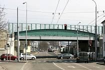 Viadukt v Pekárenské ulici v Českých Budějovicích