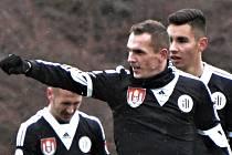 Peter Grajciar byl v zápase Dynama s Příbramí (1:1) autorem vyrovnávacího gólu Jihočechů.