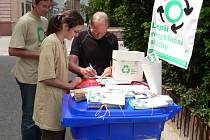 Petice za lepší recyklační služby.