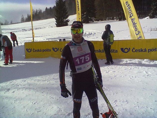 Absolutní vítěz Kašperské 30 Pavel Ondrášek