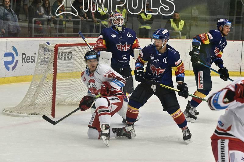 Hokejová Tipsport extraliga: Motor ČB - Olomouc.