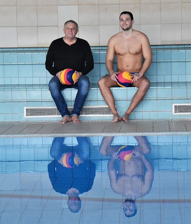 Nejlepší český vodní pólista sní o olympijských hrách.