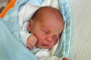 Nikolas Schacherl se mamince Kateřině Schacherlové narodil 26. 9. 2017 v 15.06 h. Nikolas, jehož domovem budou Nové Hrady, po porodu vážil 2,67 kilogramu. Foto: Ilona Lonsmínová
