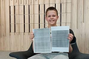 Matthäus s dopisem od Putina.