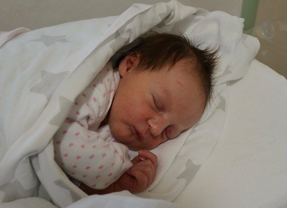 Nina Hájková z Písku. Dcera Jany a Pavla Hájkových se narodila 17. 12. 2020 v 13.52 hodin. Při narození vážila 3250 g a měřila 49 cm. Doma ji přivítal bráška Kristián (7).