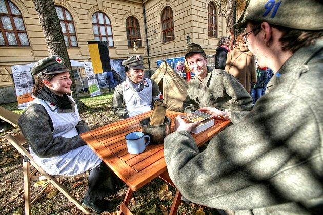 Jihočeské muzeum připravuje na neděli u příležitosti Dne válečných veteránů připomínku první světové války. Snímek je z loňského roku.