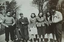 Mladí Židé, kteří uprchli do Dánska.