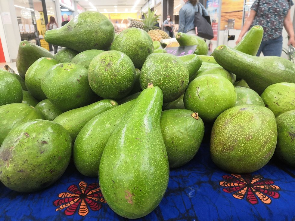V IGY Centru v Českých Budějovicích se konaly africké trhy s exotickým ovocem a dalším zbožím vonícím dálkami.