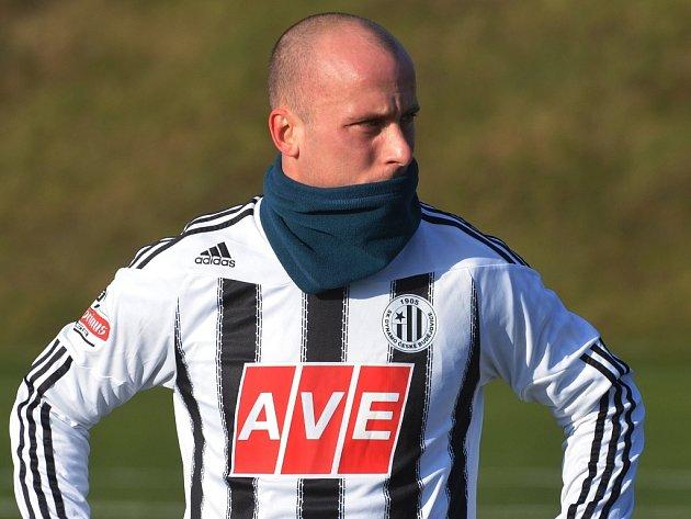 Ivo Táborský dal v zápase Dynama s Hradcem (2:1) oba góly vítězů.
