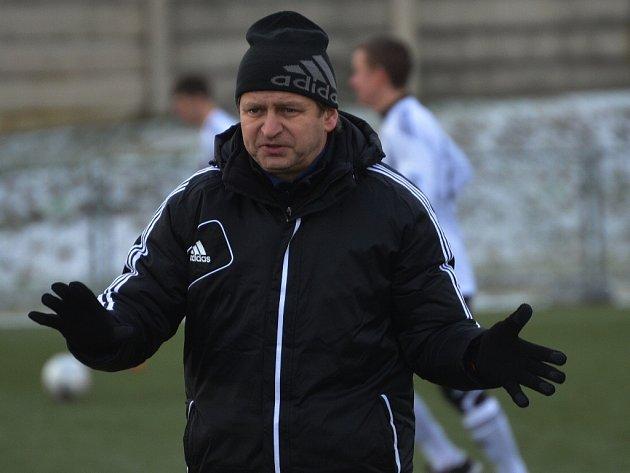 Trenér Miroslav Soukup nebyl ani po zápase s Duklou příliš spokojen.