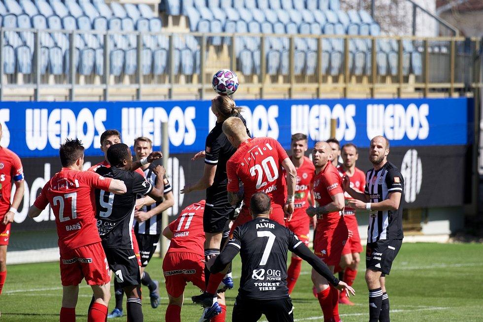 Fortuna liga, fotbal, Dynamo České Budějovice - FC Zbrojovka Brno.