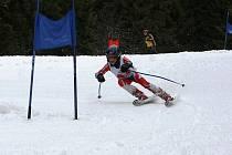 Talentovaný lyžař Martin Hrabák z Písku