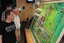 Informační středisko Jaderné elektrárny Temelín.