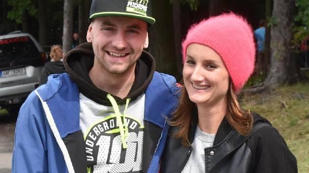 Pavel Kejmar s manželkou.