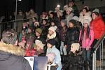 Koledy se zpívaly také v Trhových Svinech, hlavní úlohu měly sbory Zvonky a Zvonečci ze ZUŠ F. Pišingera T. Sviny